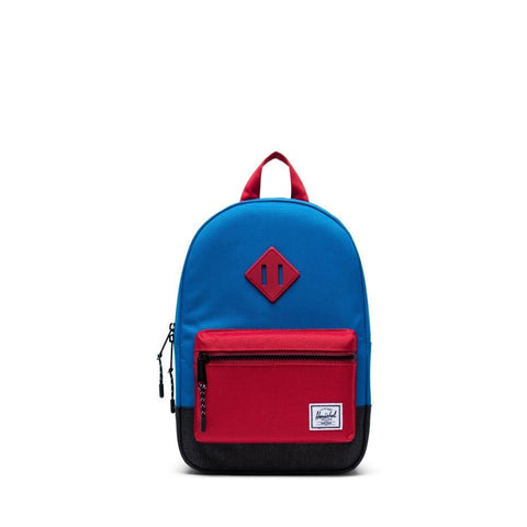 Heritage Kids Herschel Imperial Blue Red Black Crosshatch