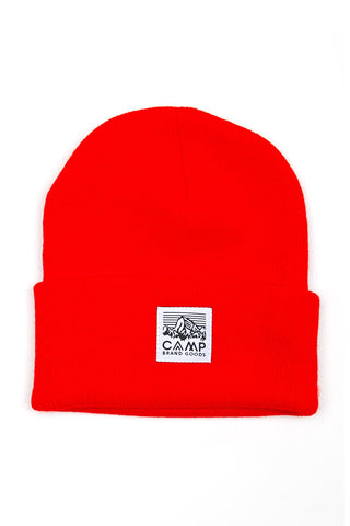 Heritage Logo Toque Camp Brand Goods Red