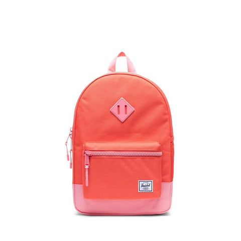 Heritage Youth Kids Herschel Hot Coral Flamingo Pink