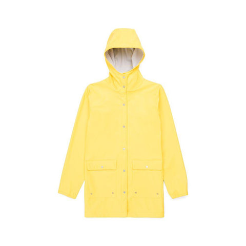 Herschel Parka Forecast Rain Jacket Women Cyber Yellow