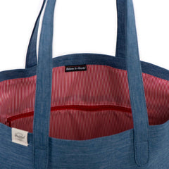 Richmond Herschel Crosshatch Navy