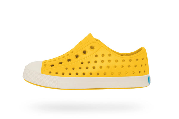 Native Jefferson Child Crayon Yellow/Shell White