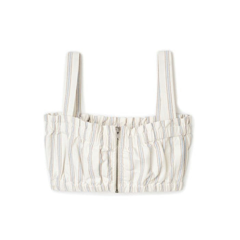 Jose Bandeau Top Women Brixton Off White