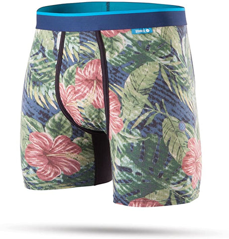 Jungle Floral BB Wholester Stance Men Underwear Navy