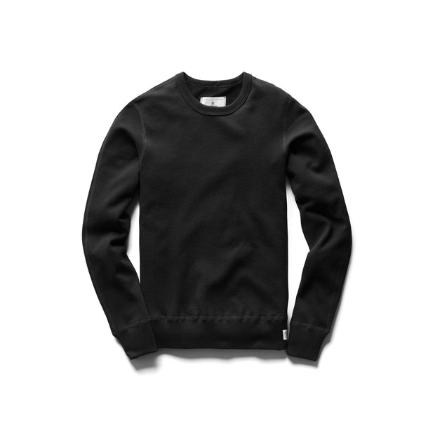 Reigning Champ Lightweight Pima Terry Crewneck Women Black