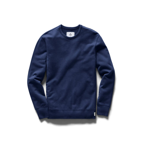 Reigning Champ Lightweight Terry Crewneck Men Blue