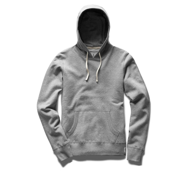 Reigning Champ Lightweight Terry Pullover Hoodie Women Heather Grey