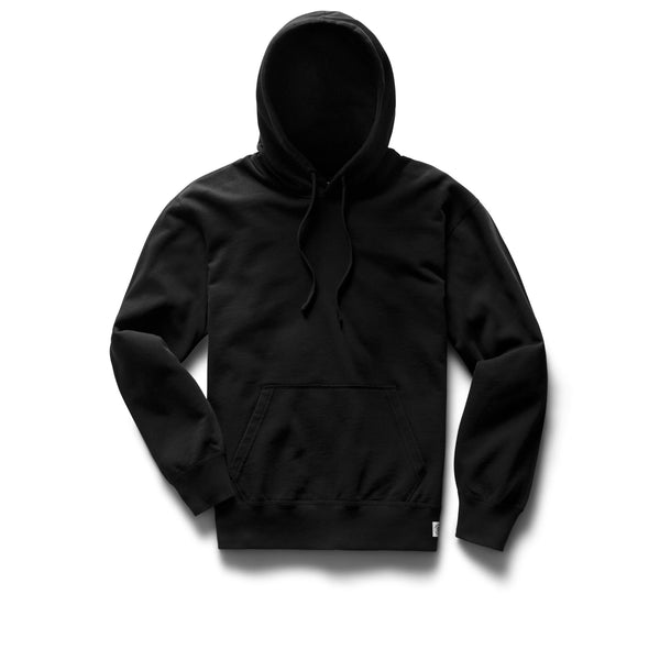 Lightweight Terry Relaxed Pullover Hoodie Women Reigning Champ Black