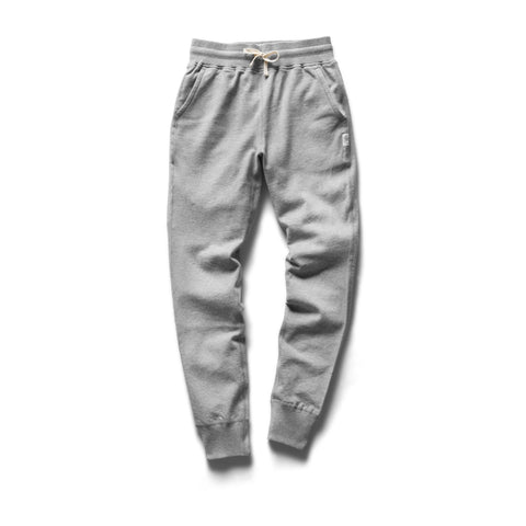 Reigning Champ Lightweight Terry Slim Sweatpant Women Heather Grey