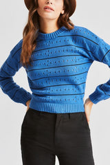 Lima Sweater Women Brixton River Blue