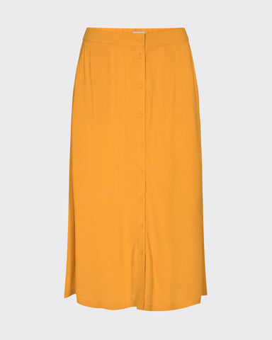 Minimum Maisa Midi Skirt Women Sunflower