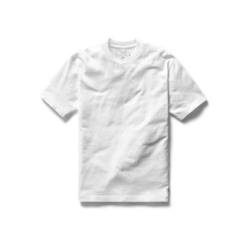 Midweight Jersey Relaxed T-Shirt Men Reigning Champ White