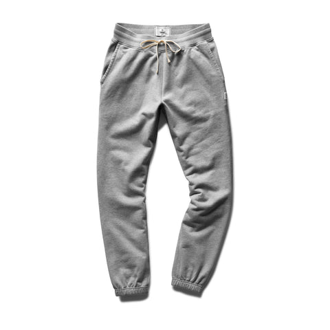 Midweight Terry Cuffed Sweatpant Men Reigning Champ Heather Grey