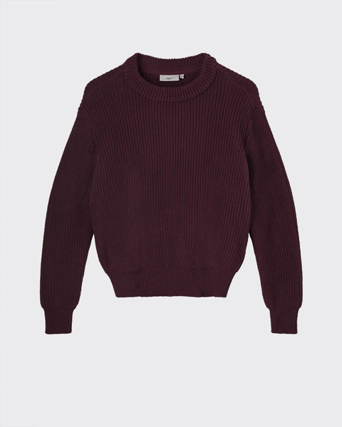Mikala Jumper Sweater Women Minimum Maroon