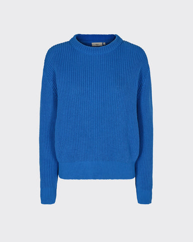 Minimum Mikala Jumper Sweater Women Palace Blue