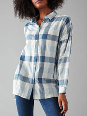 Minimum Mounia Shirt Women Twilight Blue