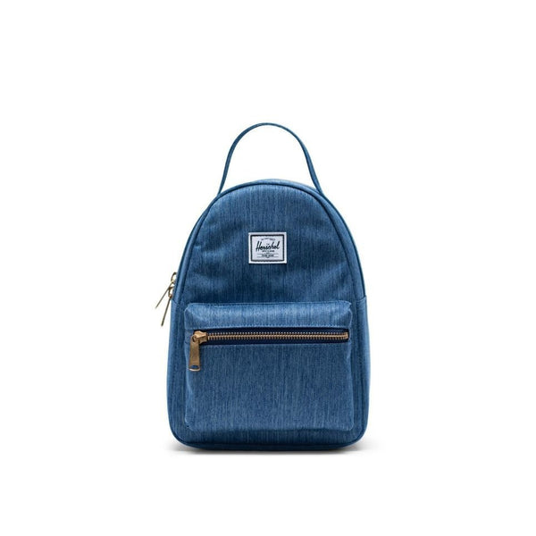 Nova Mini Herschel Faded Denim