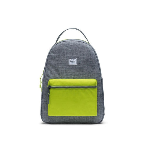 Nova Youth Kids Herschel Raven Crosshatch Lime