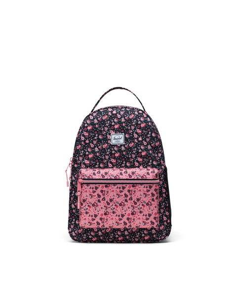 Nova Youth Kids Herschel Multi Ditsy Floral Black Flamingo Pink