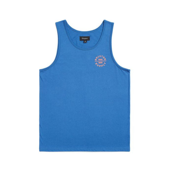 Oath V Tank Men Brixton River Blue