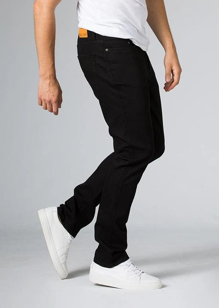 Duer Performance Denim Relaxed Taper Men Black