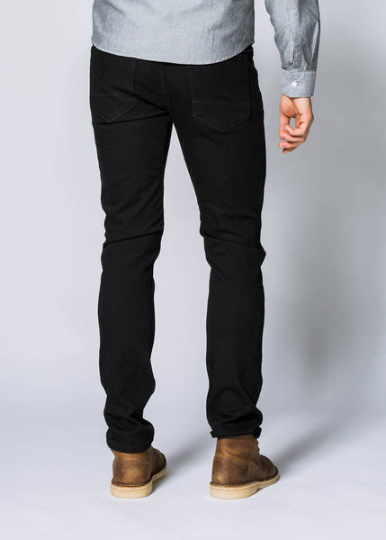 Duer Performance Denim Slim Men Black