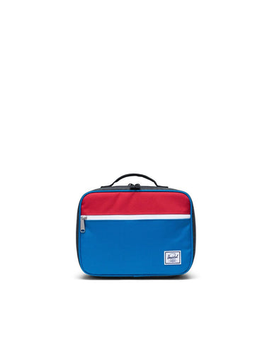 Pop Quiz Lunch Kids Herschel Imperial Blue Red Black Crosshatch