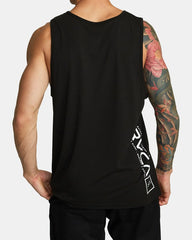 RVCA Lane Tank Men RVCA Black