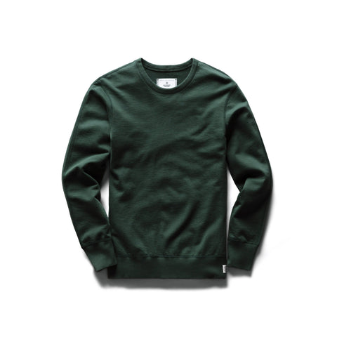 Midweight Terry Crewneck Men Reigning Champ Forest Green