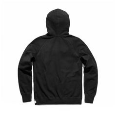 Reigning Champ Midweight Terry Pullover Hoodie Men Black