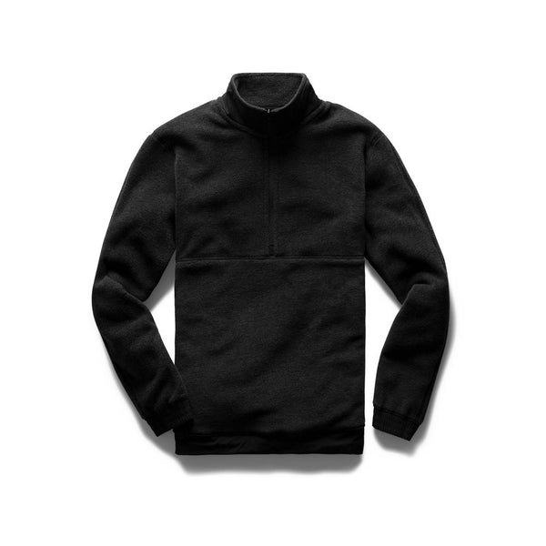 Polartec Fleece Half Zip Men Reigning Champ Charcoal