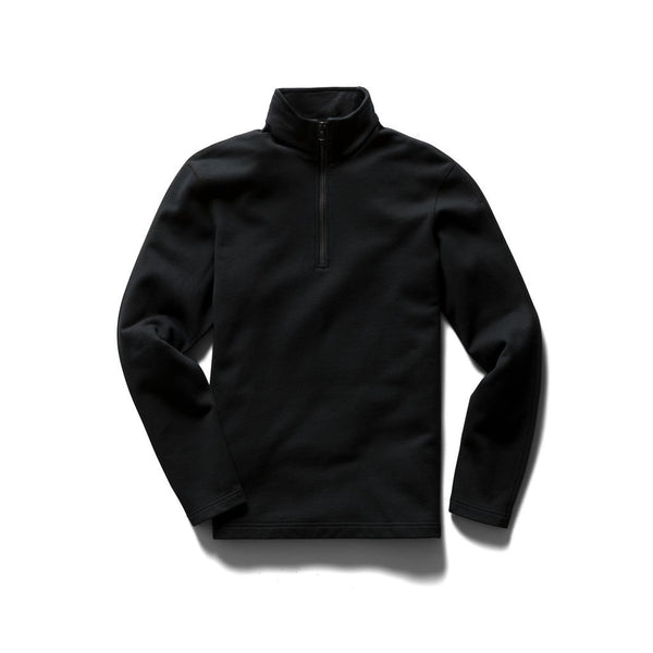 Midweight Terry Half Zip-Pullover Men Reigning Champ Black