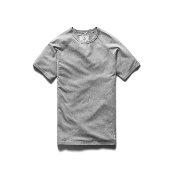 Mesh Jersey Raglan T-Shirt Men Reigning Champ H. Grey