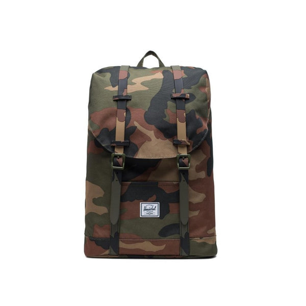 Herschel Retreat Youth Kids Woodland Camo