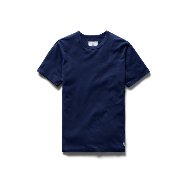 Ringspun Jersey T-Shirt Men Reigning Champ Blue