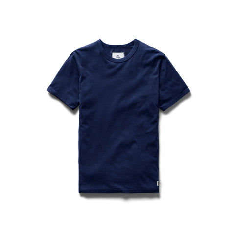 Reigning Champ Ringspun Jersey T-Shirt Men Blue