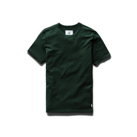 Ringspun Jersey Tee Men Reigning Champ Forest Green