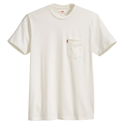 Levi's SS Set-In Sunset Pocket Men White