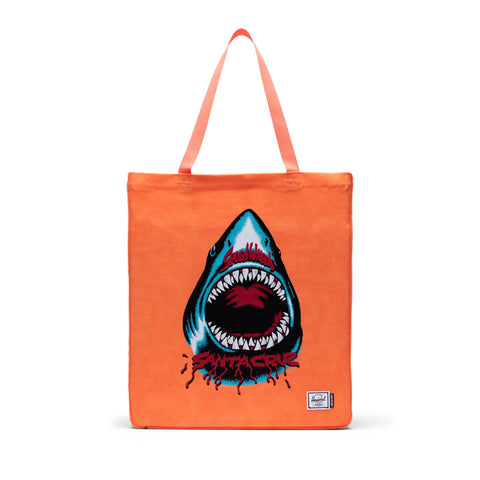 Santa Cruz Long Tote Herschel SW Shark Orange