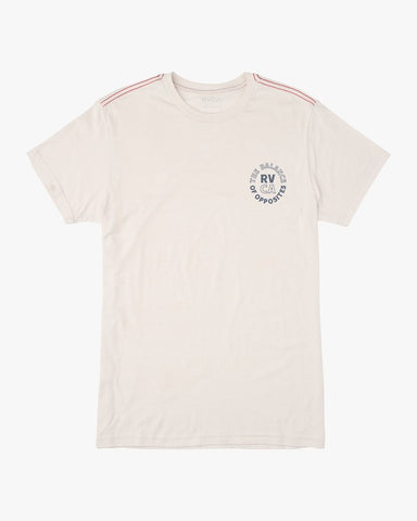 RVCA Siam SS T-Shirt Men Antique White