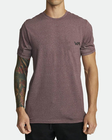 Sport Vent SS T-Shirt Men RVCA Plum