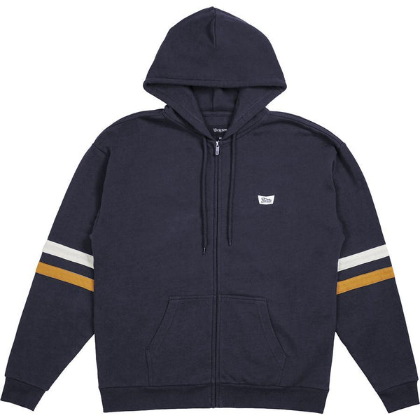 Stith Zip Hood Men Brixton Navy