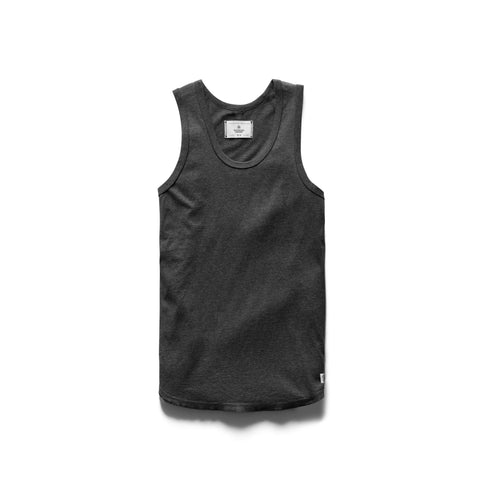 Reigning Champ Ringspun Tank Top Men H. Charcoal