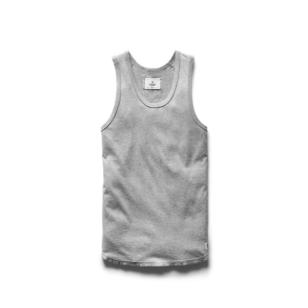 Ringspun Tank Top Men Reigning Champ H. Grey