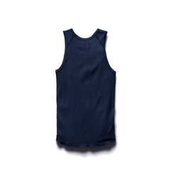 Ringspun Tank Top Men Reigning Champ Navy