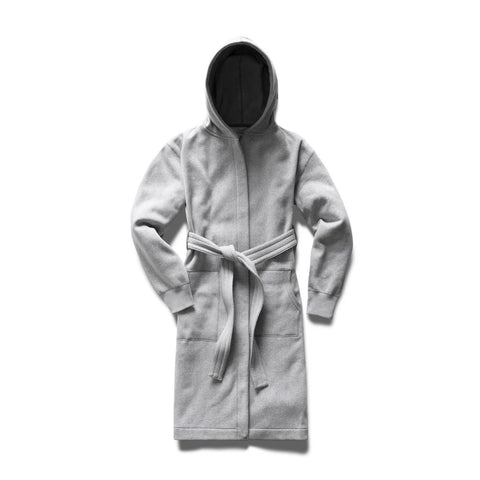 Tiger Fleece Robe Men Reigning Champ Light Grey