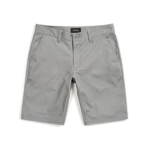 Brixton Toil II Hemmed Short Cement