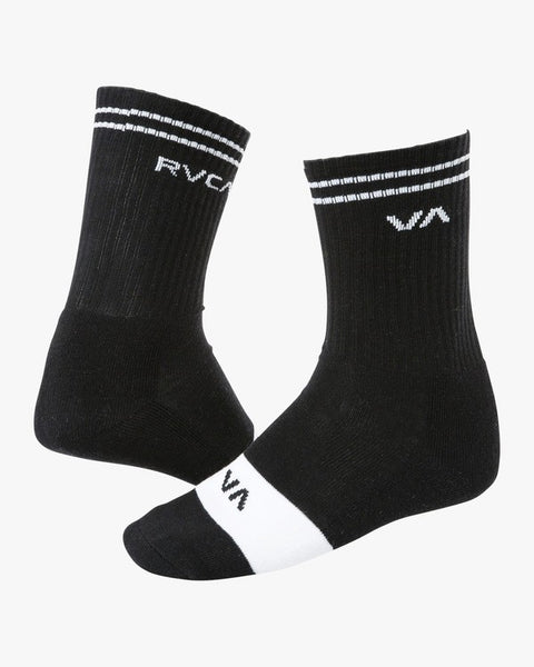 Union Skate Sock Men RVCA Black