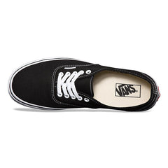 Authentic Unisex Vans Black