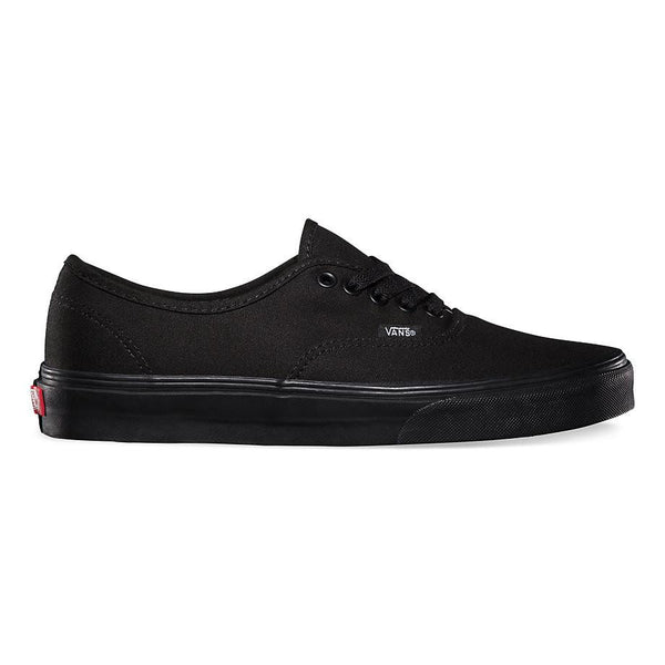 Authentic Unisex Vans Black/Black